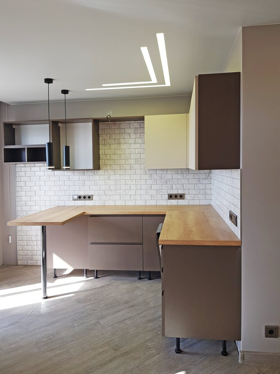 Отделка однокомнатной квартиры в новостройке ЖК «Мир Митино» Под Ключ