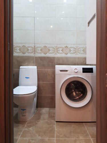 Отделку трехкомнатной квартиры общей площадью 90м2