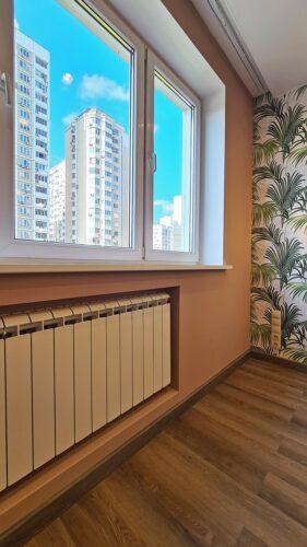 Капитальный ремонт в двухкомнатной квартире