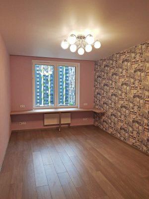 Отделка трехкомнатной квартиры