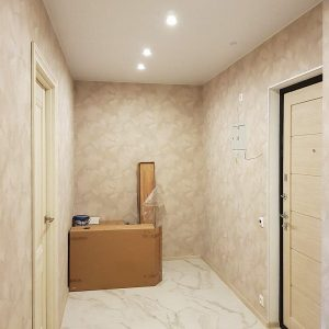 Отделка однокомнатной квартиры. Мир Митино (11)