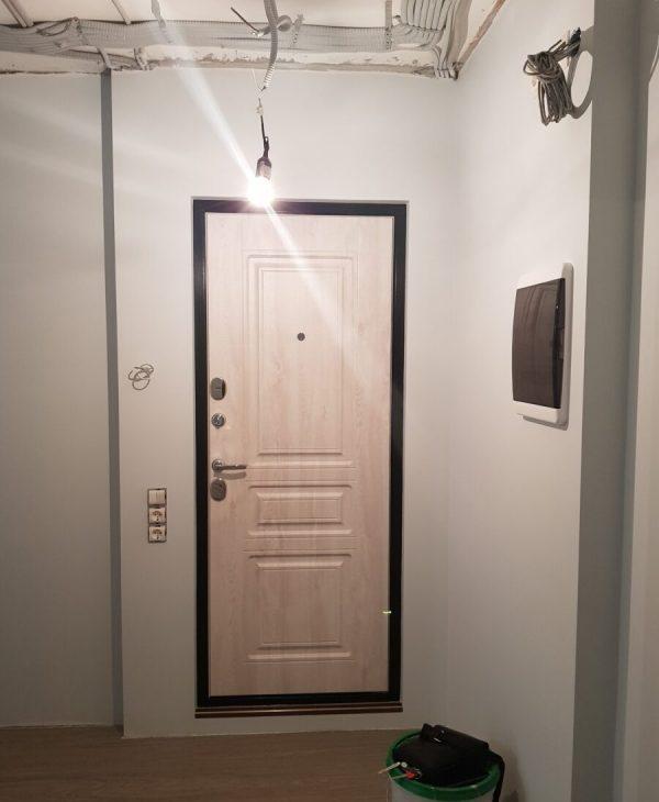 Частичный ремонт двухкомнатной квартиры