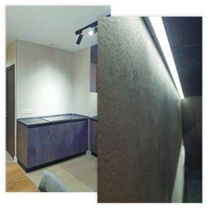 Ремонт однокомнатной квартиры в новостройке 43м2.